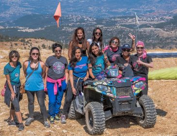 Models of Courage Embark on an Exhilarating Adventure in Lebanon with Ford Warriors in Pink